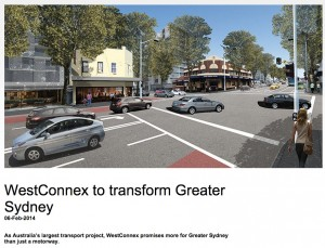 Westconnex EIS company is heavily involved in pushing motorway forward